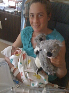 Katarina with Koala