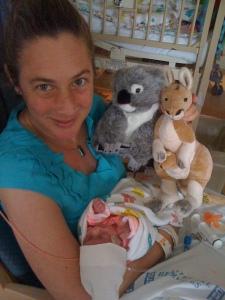 Katarina with totem animals