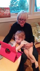 Grandma D & Tash talking to BO