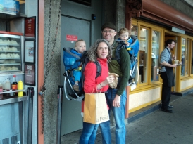Fam at Pike Market March 2015