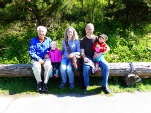Grandpa D visit to Golden Gardens