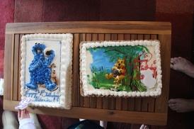3yr bday cakes
